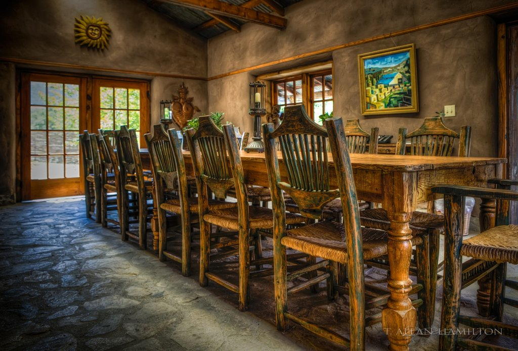 Alma Rosa- Tasting Room Conference Table