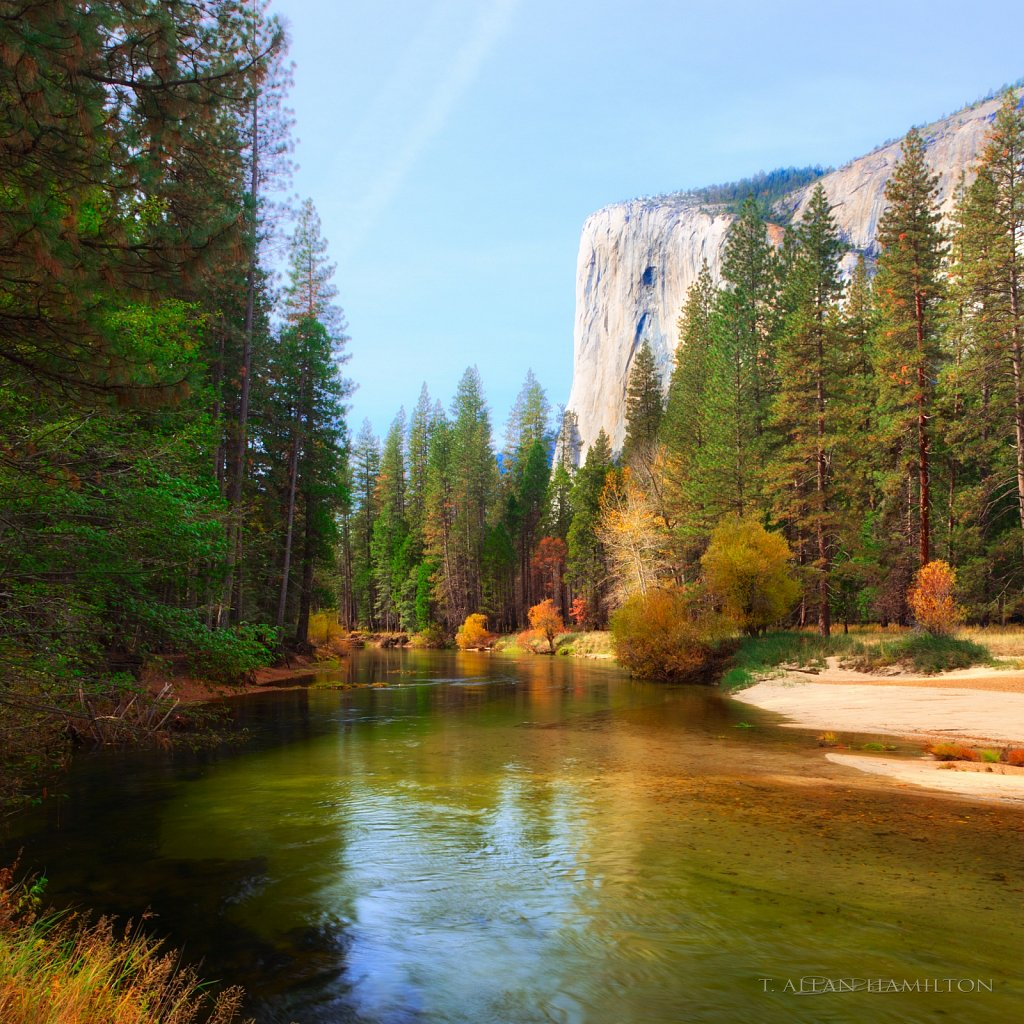 El Capitan & Merced River