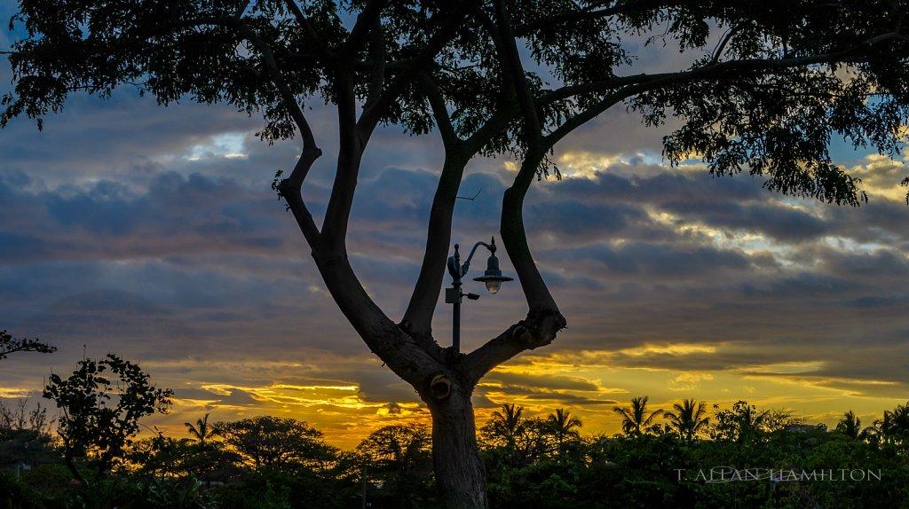 Sunset over Waimea
