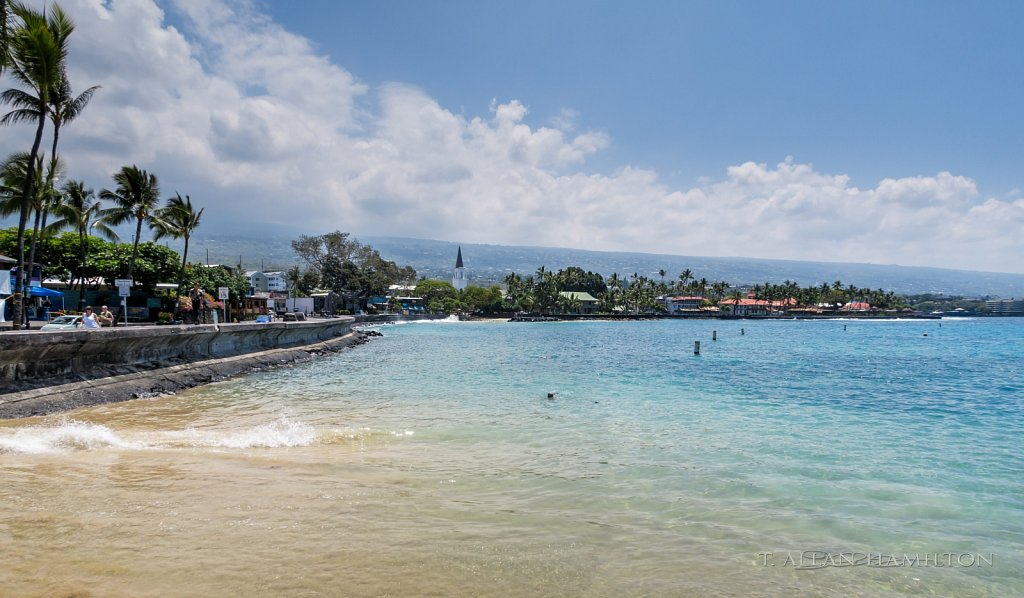 Kailua-Kona oceanfront