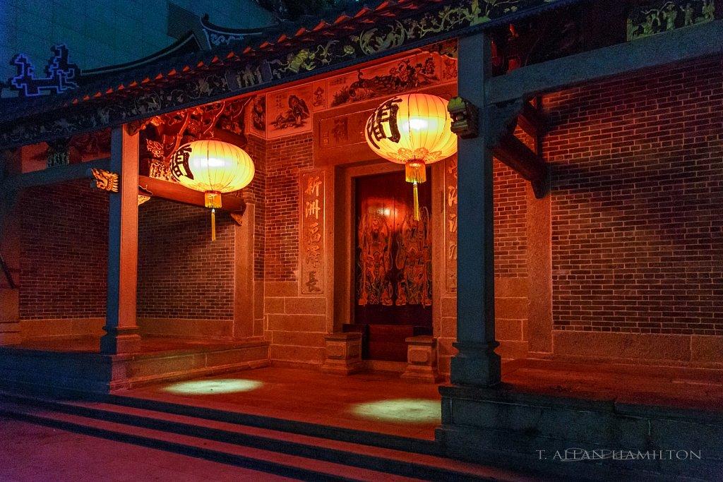 Temple near LVGEM Hotel in Shenzhen, China