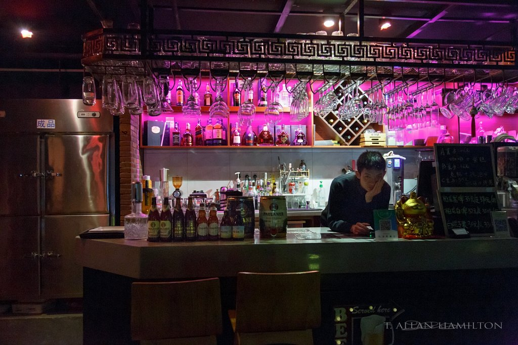 Bar near LVGEM Hotel in Shenzhen, China