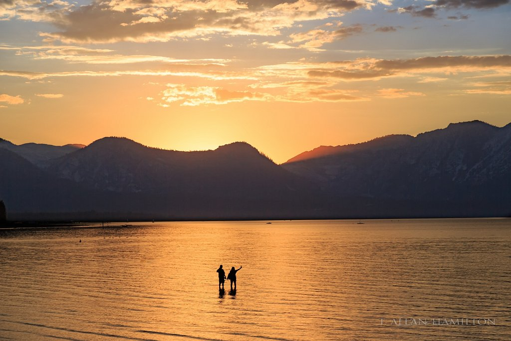 'Goodbye day'- Sunset over South Lake Tahoe