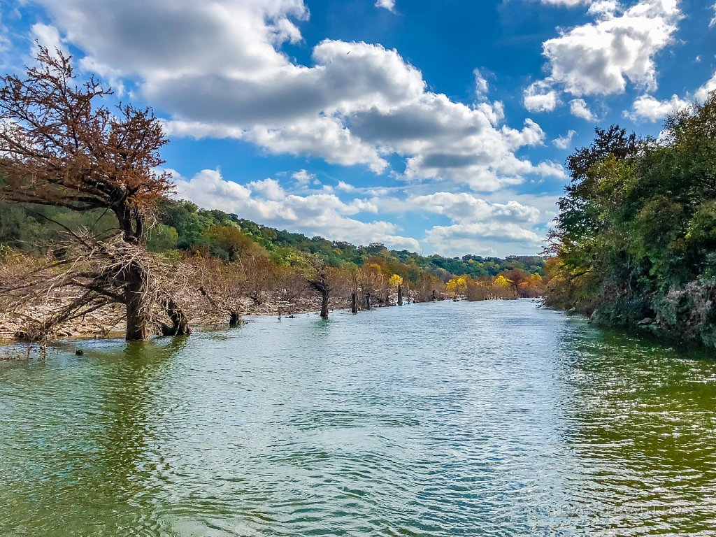 High Flow Conditions on the Perdernales